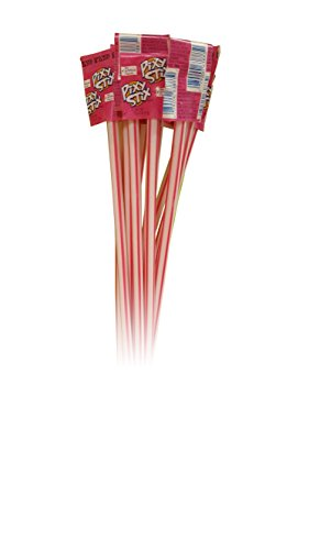 (Giant Pixy Stix Pink 16 Long 12 units Pink Candy)
