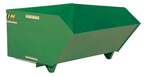 Vestil H-100-LD-GRN-T Self Dumping Hopper, LD 1 cu. yd, 2000 lb. Capacity, 51.25