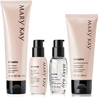 (Mary Kay TimeWise Anti-Aging Miracle Set - Combination to Oily Skin Authentic)