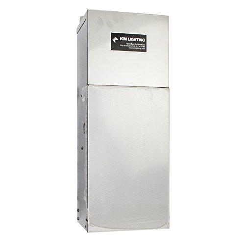 - Kim Landscape Lighting Klv620 600 Watt 12-15 Volt Variable Voltage Above Ground Transformer