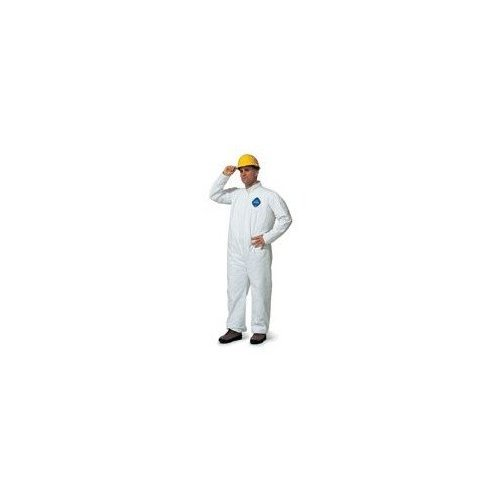 - DuPont X-Large White ProShield® 10 mil Anti-Static NexGen® Disposable Coveralls With Front Zipper Closure And Elastic Around Face