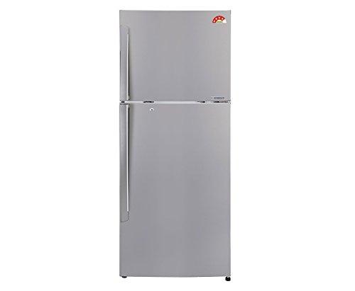 LG 308 L 4 Star Frost Free Double Door Refrigerator GL I322RPZL, Silver, Inverter Compressor