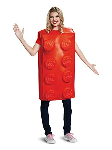 Disguise Unisex Red Brick Adult Costume,