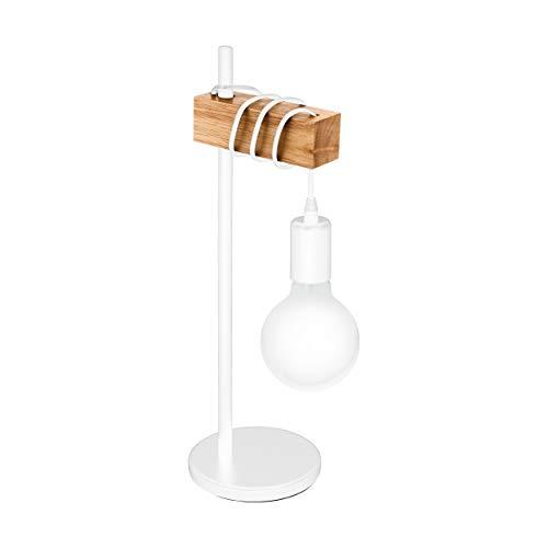 EGLO 33163 Lámpara de mesa, 10 W, Blanco