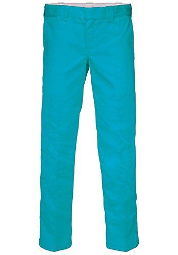 Dickies Slim Pantaloni Blue Uomo Work Straight qxOwTfqgv