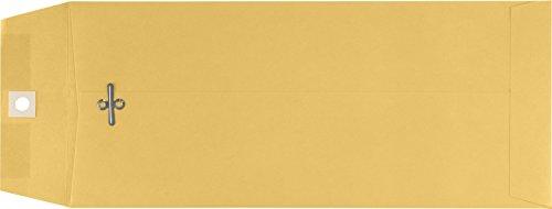 5'' x 11 1/2'' Open End Envelopes - 32lb. Brown Kraft (500 Qty.) by Envelopes.com
