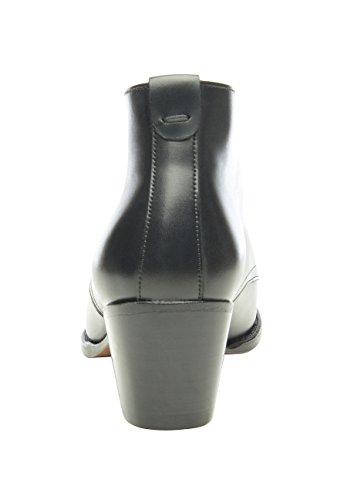 Shoepassion Pas. 208 Élégantes Chaussures Ou Occasionnels Business- Pour Les Femmes. Passepoilées Et À La Main De Cuir Le Plus Fin. Noir