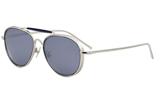 Matsuda Men's M3056 M/3056 PW Palladium White Fashion Pilot Sunglasses ()