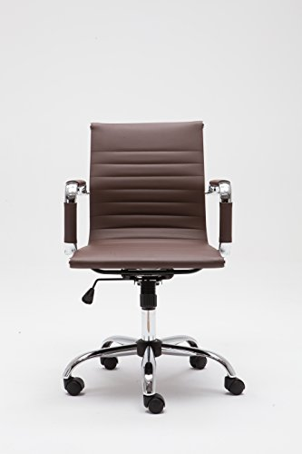 CONFERENCE OFFICE HOME CHAIRS; TASK CHAIRS; GUEST OR DESK CHAIRS MZN7160 (BROWN) by Winport Furniture