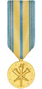 Medals of America National Guard Armed Forces Reserve Medal Miniature Anodized