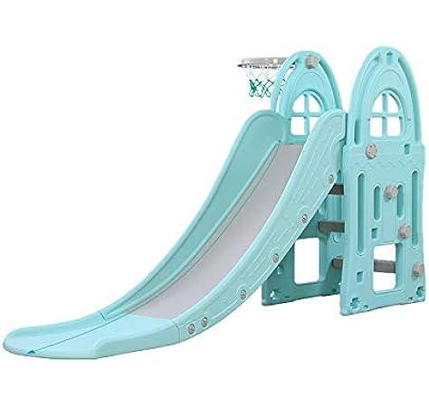 Toboggan XL - Azul - tobogán Infantil para Jardin Parques e Interiores - Columpio y Juguete para jardín Ideal para niños y niñas: Amazon.es: Juguetes y juegos