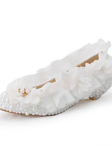 ZQ Zapatos de boda-Tacones-Cu?as-Boda / Vestido / Fiesta y Noche-Blanco-Mujer , under 1in-us11 / eu43 / uk9 / cn44 , under 1in-us11 / eu43 / uk9 / cn44 under 1in-us7.5 / eu38 / uk5.5 / cn38