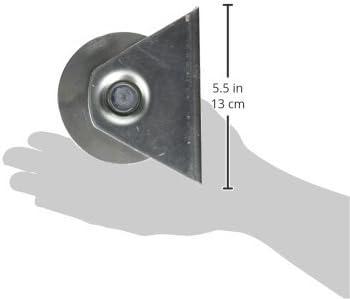 ALEKO U-groove puerta rueda para puertas de garaje correderas 10,16 cm para U pistas: Amazon.es: Bricolaje y herramientas