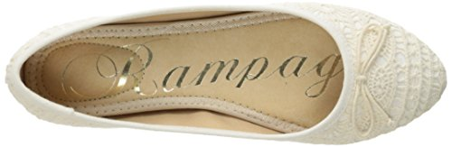 Rampage Women's Balley Ballet Flat Natural Crochet WrwkNO