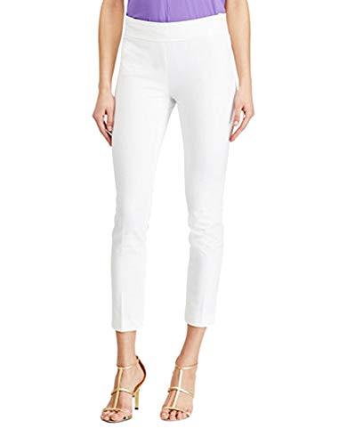 (Lauren Ralph Lauren Petite Skinny Pants (White,)