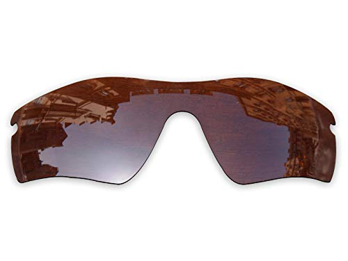 Vonxyz Lenses Replacement for Oakley Radar Path Sunglass - Bronze Brown Polarized