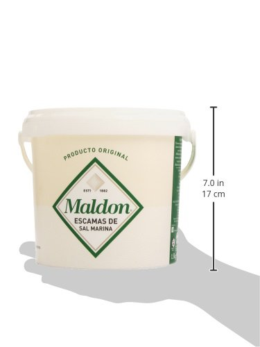 Maldon - Escamas de sal marina - 1.5 kg: Amazon.es: Alimentación y bebidas