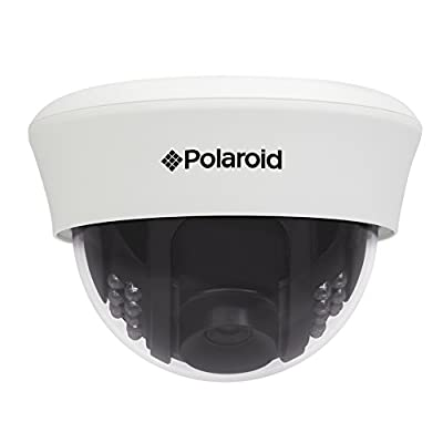 Polaroid IP-101W Indoor Wireless Network Surveillance Camera with Night Vision (White)