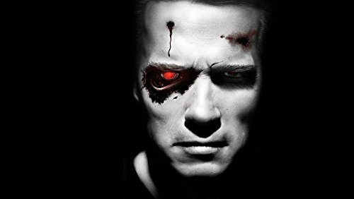 Red Eye Movie Poster - makeuseof 24X36 INCH / ART SILK POSTER / TERMINATOR science fiction action movie film red eye machine Home Decoration Canvas Poster