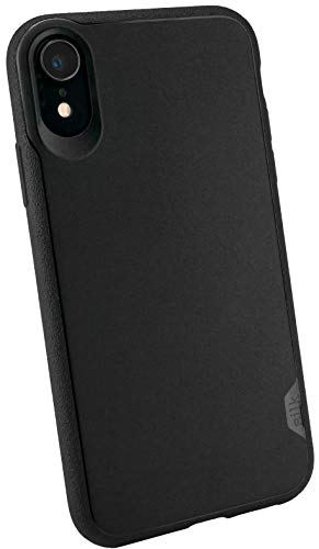Smartish iPhone XR Slim Case - Kung Fu Grip [Lightweight + Protective] Thin Cover for Apple iPhone 10R (Silk) - Black Tie Affair
