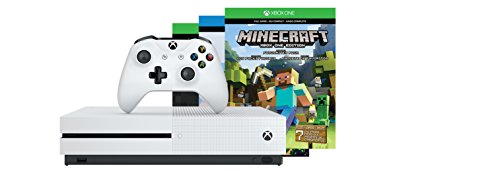 Xbox One S 500GB Console - Minecraft Bundle