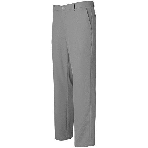 Greg Norman Mens Classic Profit Flat Front Pants Grey 32 33