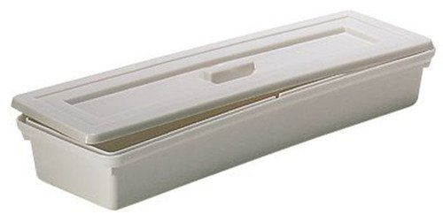 PSC 2003501 Autoclavable Instrument Tray/Pipet Sterilizing Pan, Polypropylene, 456 mm Length x 152 mm Width x 67 mm Height, White by PSC
