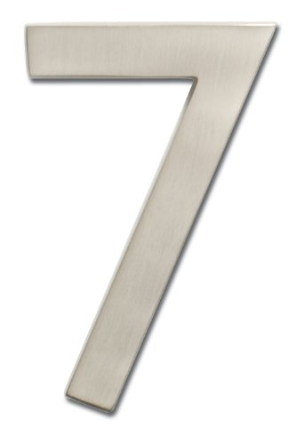 metal address numbers - 3