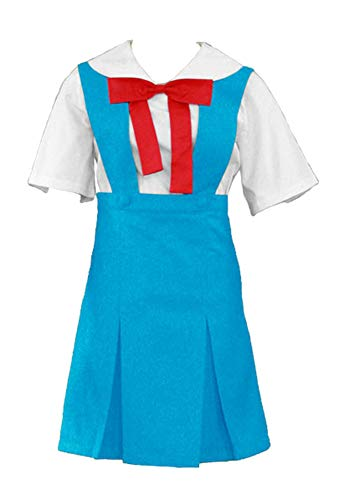 Rei Ayanami School Uniform Costumes - Chong Seng CHIUS Cosplay Costume Ayanami