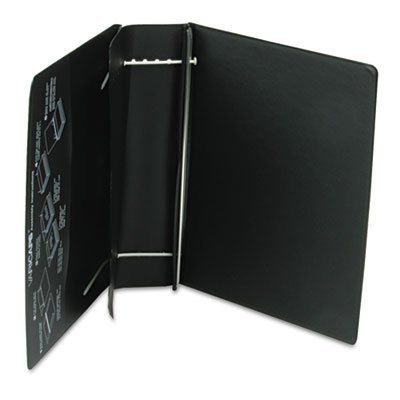 Charles Leonard Products - Charles Leonard - Varicap6 Expandable 1 To 6 Post Binder, 11 x 8-1/2, Black - Sold As 1 Each - This expanding binder accommodates projects of any size and is designed to hold up to 1,500 sheets. - Flexible posts and the sliding channel tabs provide neat, secure assembly. - Organize all of your projects easily with the label holder on the spine for quick identification of documents. - Look no further for binder versatility--inside front vertical pocket adds extra s