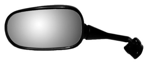 Emgo 20-87022 Black Left Side Standard Replacement Mirror for Honda CBR600F4/RC-51