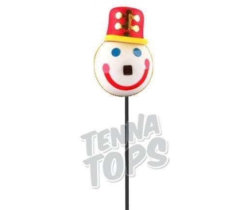 Jack in the Box - Nutcracker Car Antenna Topper + Yellow Smiley Antenna Ball