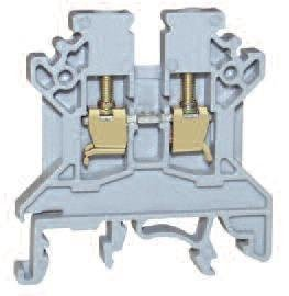 DIN Rail Terminal Blocks F/T term block LED (10 pieces