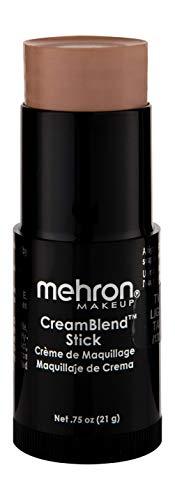 Mehron Makeup CreamBlend Stick (.75 oz) (LIGHT TAN)