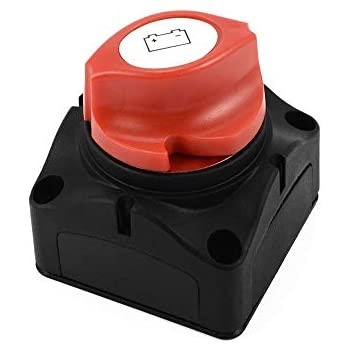MonkeyJack Battery Master Kill Switch Isolator Disconnect Cut Off 12v-24v for Car Boat