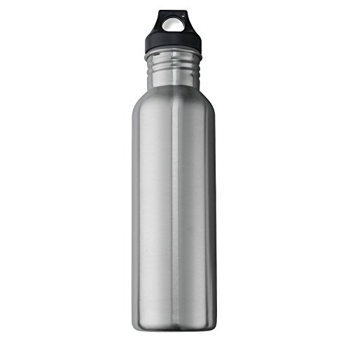 (Neiko 71010 Stainless Steel Sports Water Bottle with Wide Mouth, 0.75L | BPA Free)