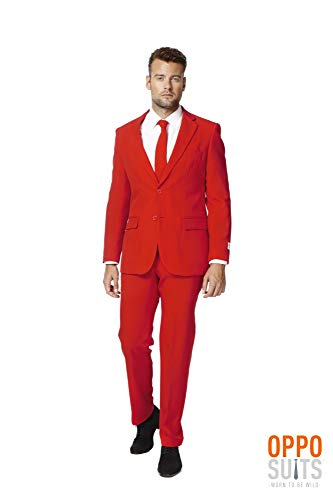 Mens Opposuits Green Suit - OppoSuits,Scotch Red Dress Suit for Men