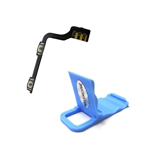 Volume Button Flex Cable Replacement for OnePlus One 1+ A0001 + PHONSUN Portable Cellphone Holder