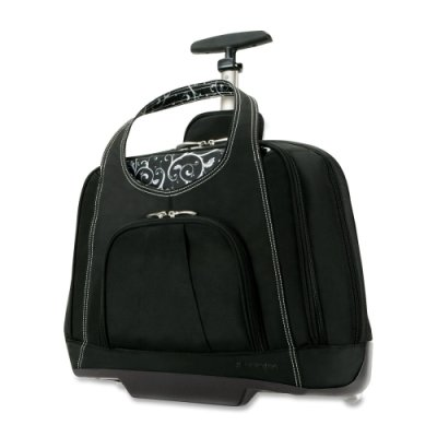 Kensington Contour Balance Series Rolling Notebook Case (Black) by Kensington