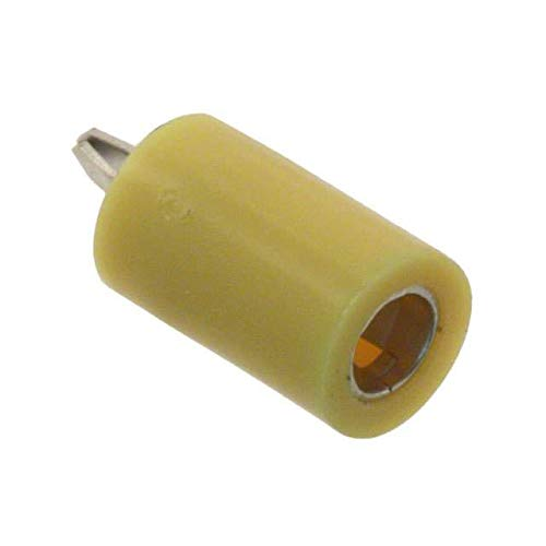 PC TEST POINT JACK YELLOW (Pack of 100) (105-2207-201)