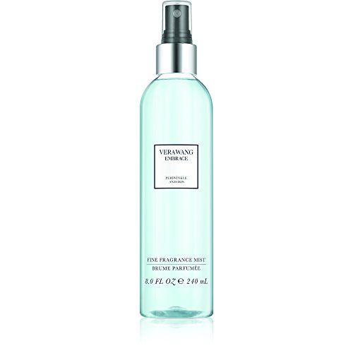 Vera Wang Embrace Body Mist for Women Periwinkle and Iris Scent 8 Fluid Oz. Body Mist Spray Passionate, Floral and Sparkling (Vera Wang Pure Perfume Spray)