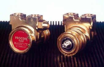 112A100F11XX - Procon brass, 100 GPH clamp-on, for 1/3 HP by Procon
