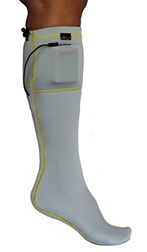 Volt Heated Socks, Grey, Small