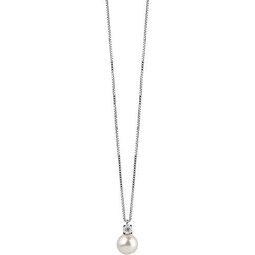 Collier Femme Bijoux Bliss rosée perles élégante cod. 20070778
