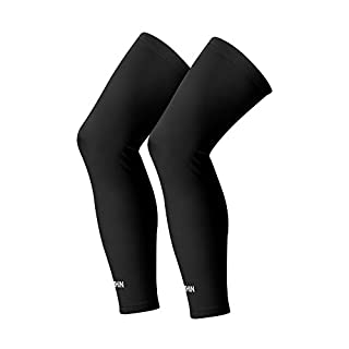 SONTHIN Leg Sleeves Compression Full Leg Long Sleeves for Men Women Youth (5 Colors Available,1 Pair)
