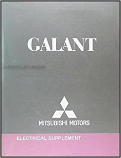 2007 Mitsubishi Galant Wiring Diagram Manual Original: Mitsubishi:  Amazon.com: BooksAmazon.com