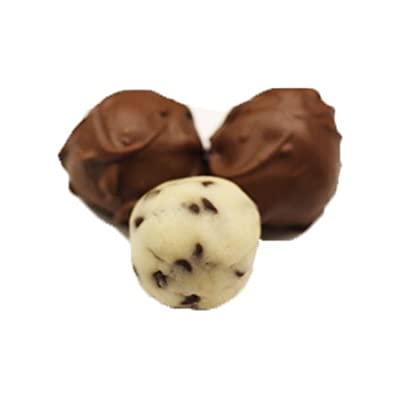 Scott's Cakes Milk Chocolate Chip Covered Chocolate Chip Marzipan Truffles in a Decorative Box