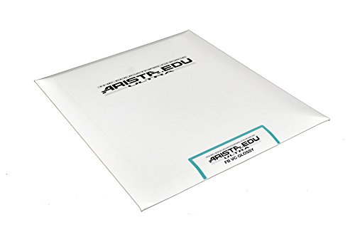 (Arista EDU Ultra FB VC Black & White Photographic Paper, Glossy 8x10, 25 Sheets)