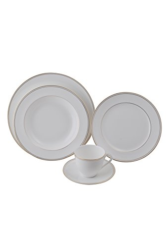 5 Pcs Dinner Set - Royal Gold