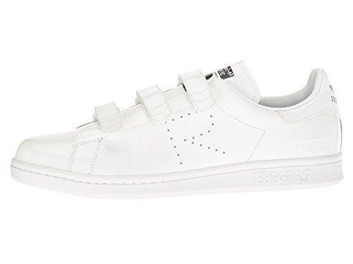adidas by Raf Simons Unisex Raf Simons Stan Smith Comfort Footwear White/Footwear White/Core Black 10.5 M UK